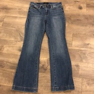 Talbots Flawless Five Pocket Flare Jeans Size 6